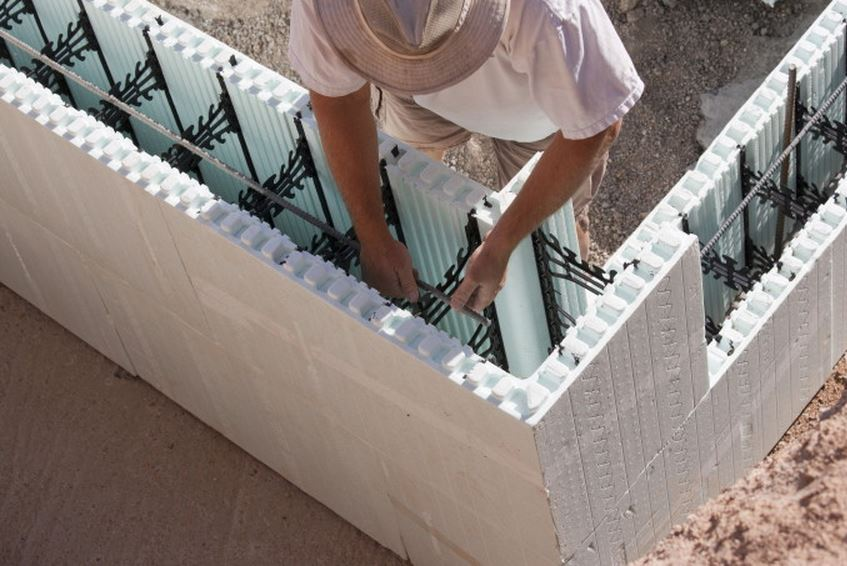 Nudura ICF Foundation Detail