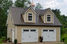 20' x 28' Elite Garage with LP Smartside Siding and Standing Seam Roofing